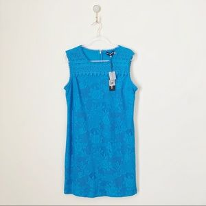 Karl Lagerfeld Floral Lace Shift Dress